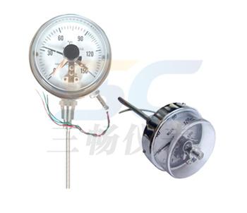 电接点双金属温度计
