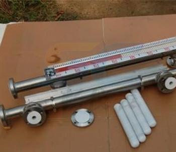 不锈钢衬四氟(PTFE)防腐磁翻板液位计