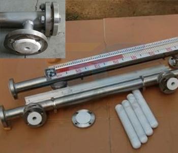 聚四氟乙烯PTF耐腐蚀磁翻板液位计