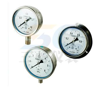 YTN-60B不锈钢耐震压力表